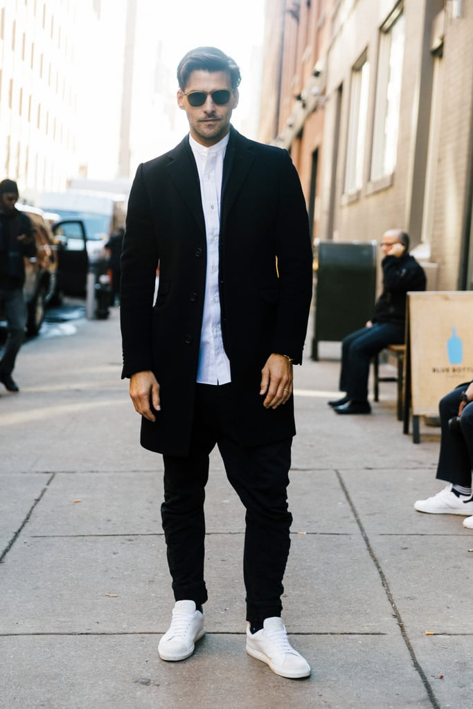 Men 39 S Fashion Week Street Style Fall 2016 Popsugar