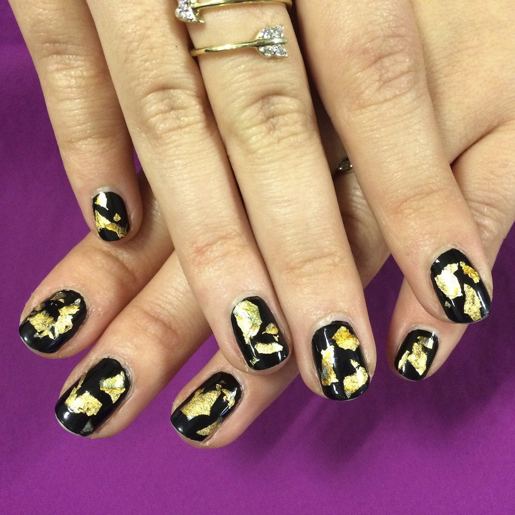 New Years Eve Nail Art Ideas Popsugar Beauty