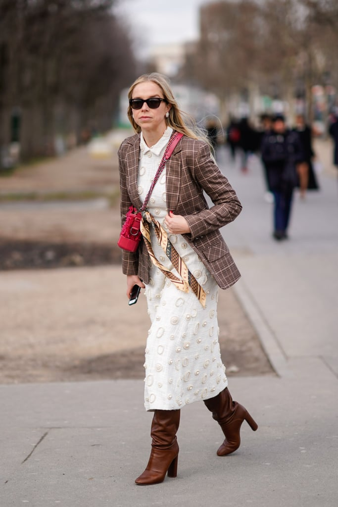 0c2ee70167d Throw a Tweed Blazer and Boots Over Your LWD