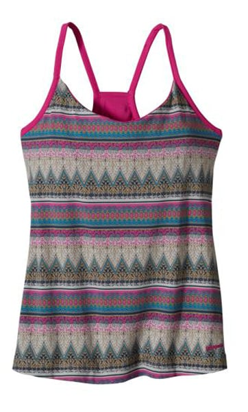 Patagonia has got some really pretty prints on the website right now, but I'm particularly fond of this Women's Hotline Top ($49). The colors are a bit more muted, but not lacking in any fun.