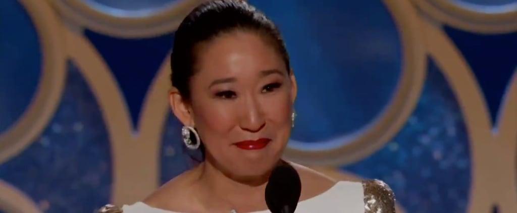 Sandra Oh Acceptance Speech at 2019 Golden Globes