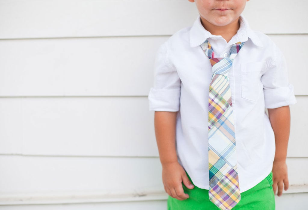For Your Boy to Wear: His First Neckwear