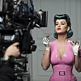An Exclusive Behind-the-Scenes Image of Katy Perry For CoverGirl