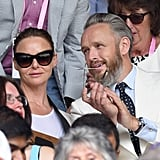 Stella McCartney and Alasdhair Willis at Day 11 of Wimbledon