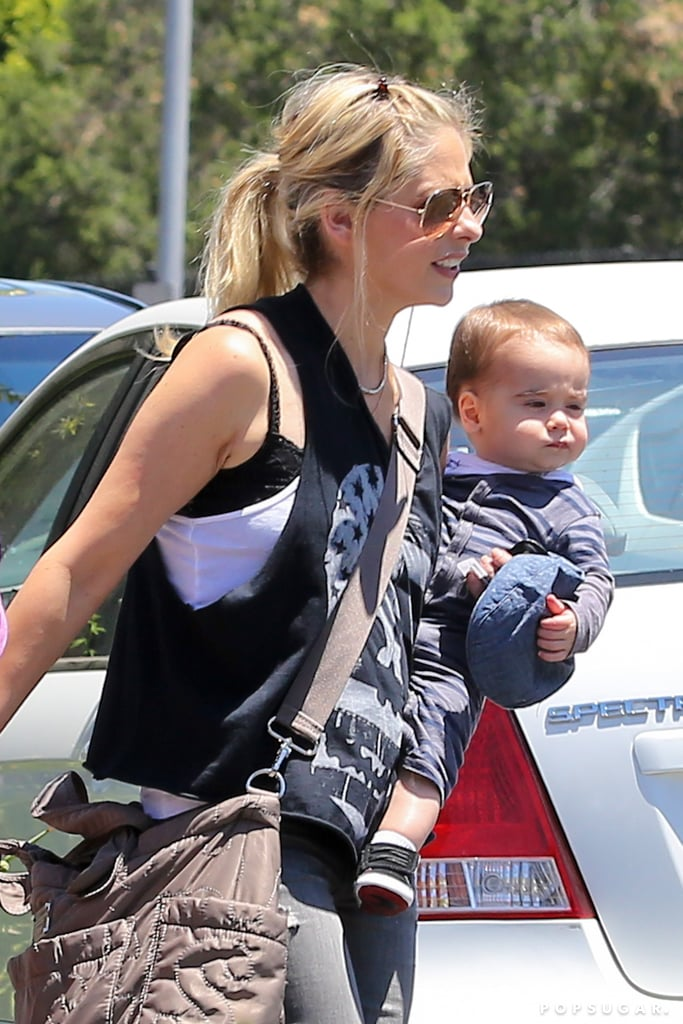 Sarah Michelle Gellar With Son Rocky | Photos