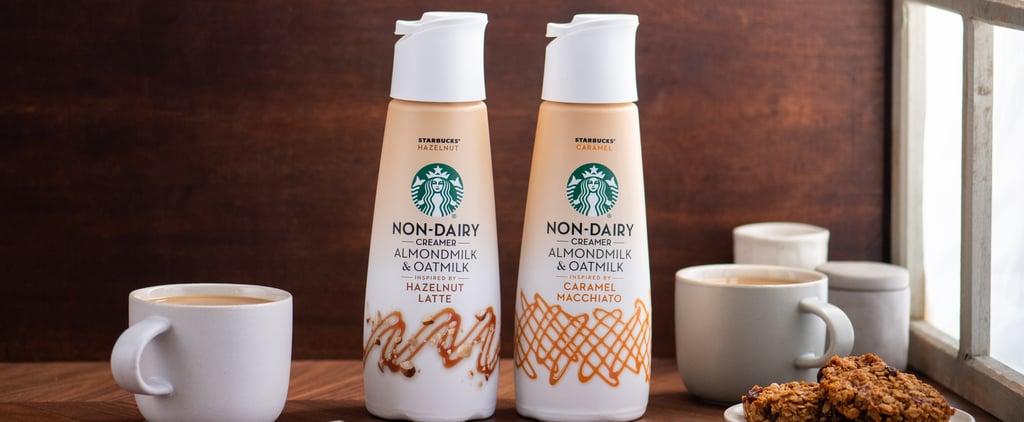 Starbucks Released 2 New Nondairy Coffee Creamers
