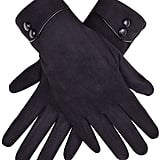 Gloue Button Gloves