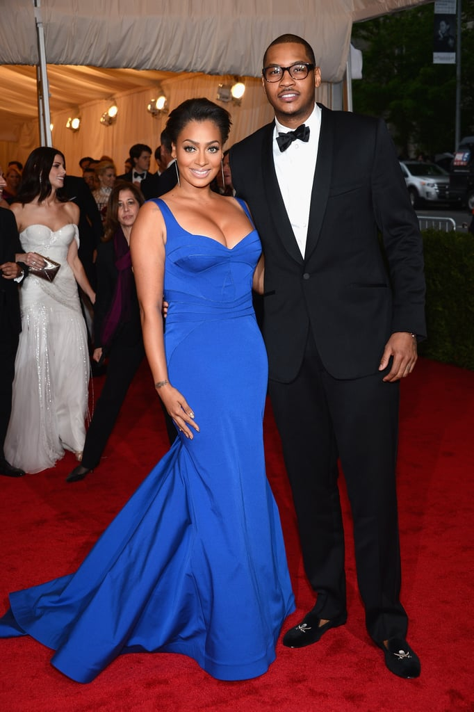 Carmelo Anthony and LaLa Vasquez brought their A-game to the fashionable fete.