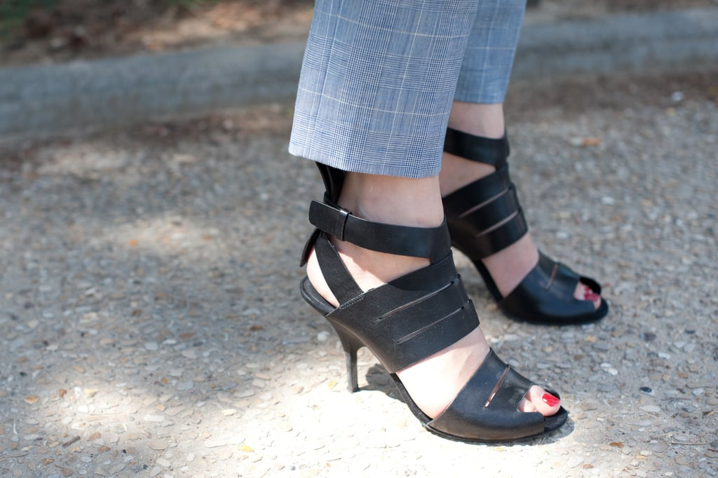 We're smitten with these strappy heels — just the thing to offset more sophisticated staples.