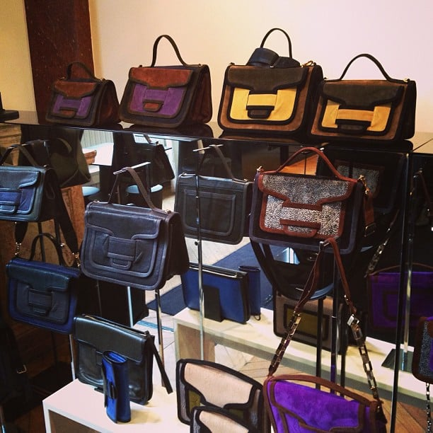 A handbag-lover's dream, thanks to Pierre Hardy.