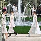 The Chanel Couture Show Took Place in Karl Lagerfeld's French Gardens