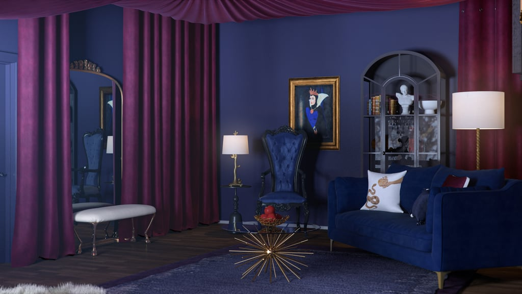 Evil Queen From Snow White and the Seven Dwarfs' Living Room