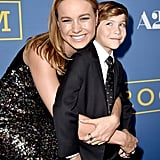 His Room costar (and onscreen mom) Brie Larson is basically his BFF.