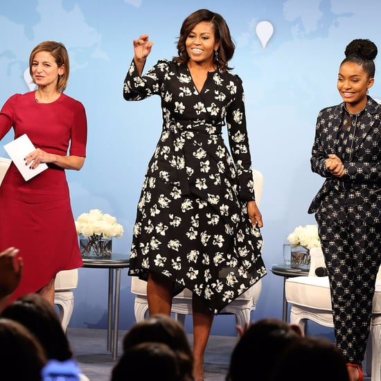Michelle Obama's Dress at Glamour's Day of the Girl 2016