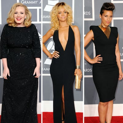 Red Carpet Dress Pictures at Grammy Awards 2012
