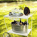 Old School Bar Cart