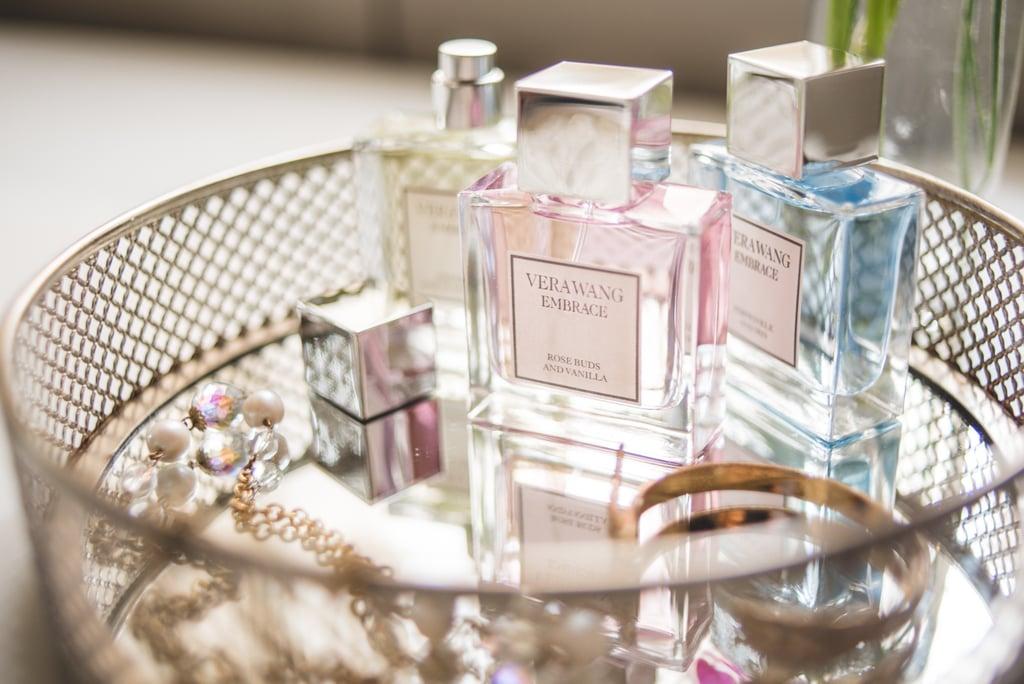 Display your favorite perfume bottles