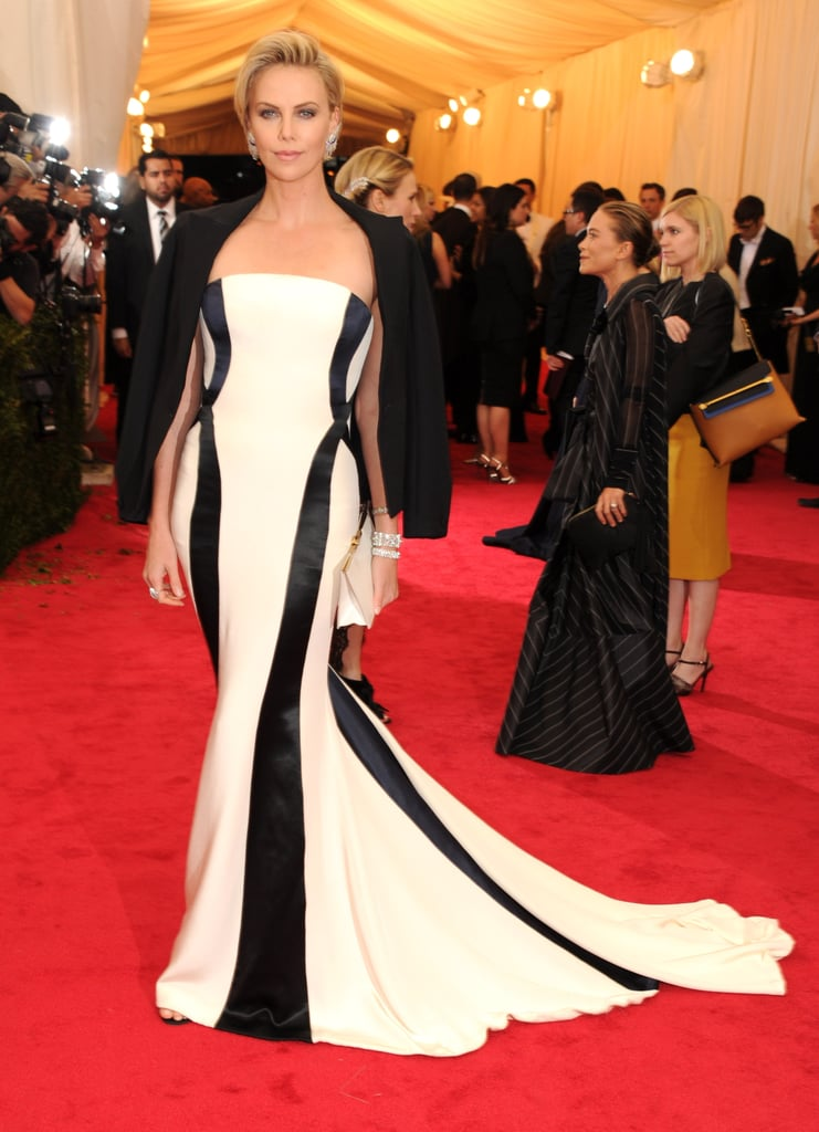 Charlize Theron Brings Sean Penn to the Met Gala