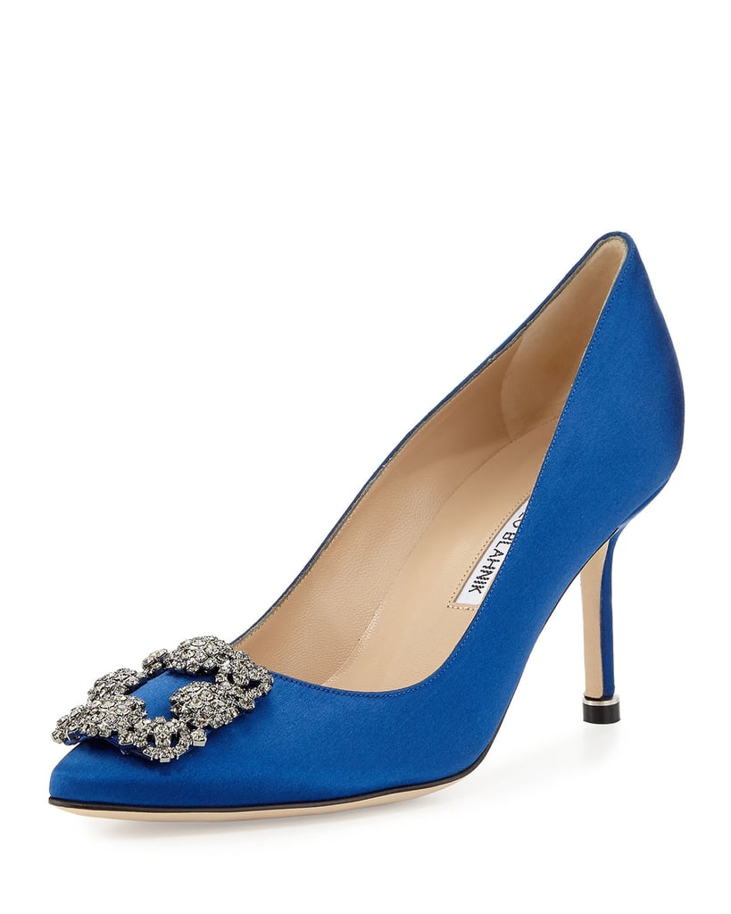 83633bbb1667f Manolo Blahnik Hangisi 70mm Pump | Gifts If You're Carrie From Sex ...