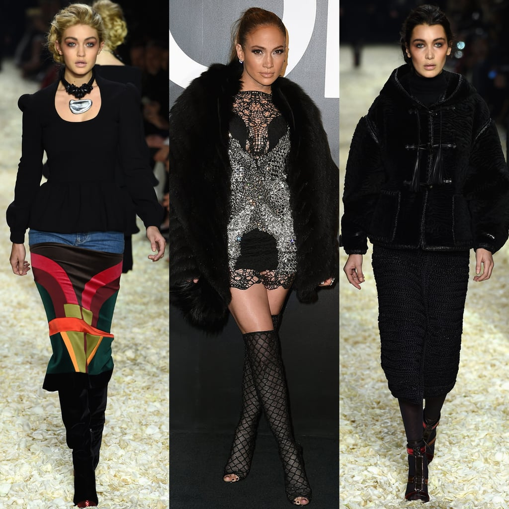 The Top Moments From Tom Ford's Supersexy LA Show