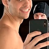Noah Centineo Showering in Funny Instagram Stories