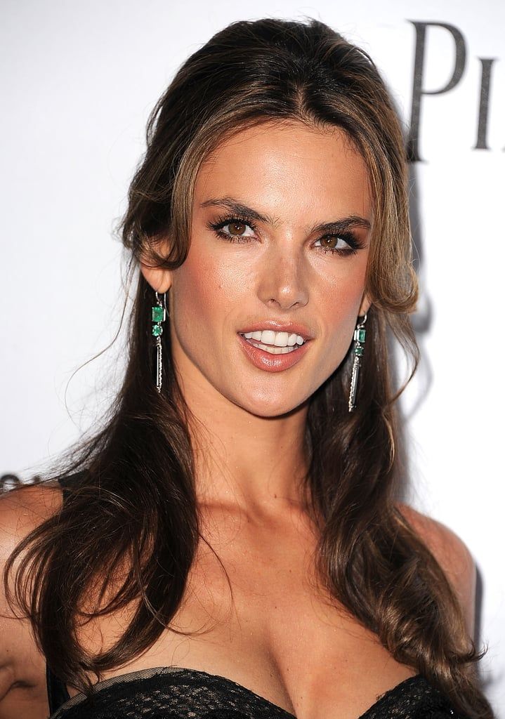 Alessandra Ambrosio attended the amfAR 3rd Annual Inspiration Gala  in LA.