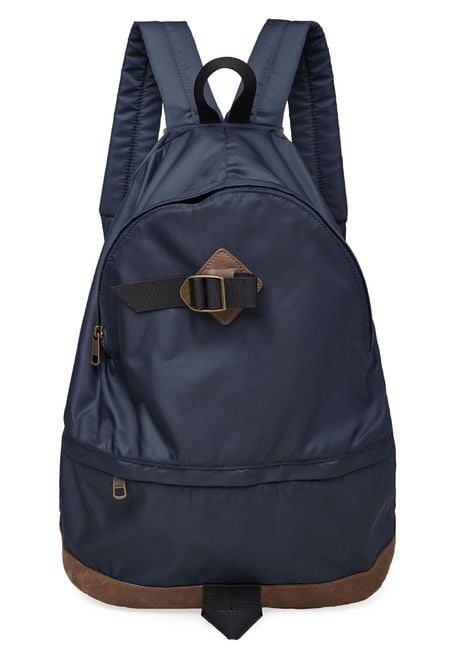 Aspects of the original JanSport carry over into A.P.C.'s latest offering ($220).