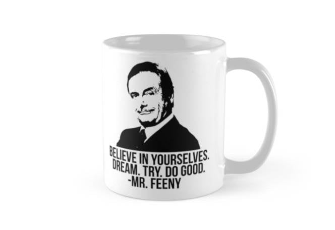 Mr. Feeny Quote Mug | The Best Boy Meets World Gifts to Buy ...