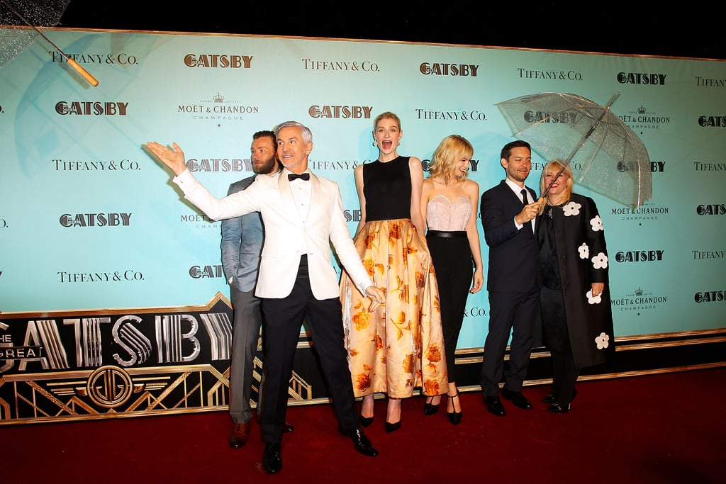 The Great Gatsby Cast with Director Baz Luhrmann | Pics of
