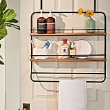 Over-The Door Tiered Storage Rack