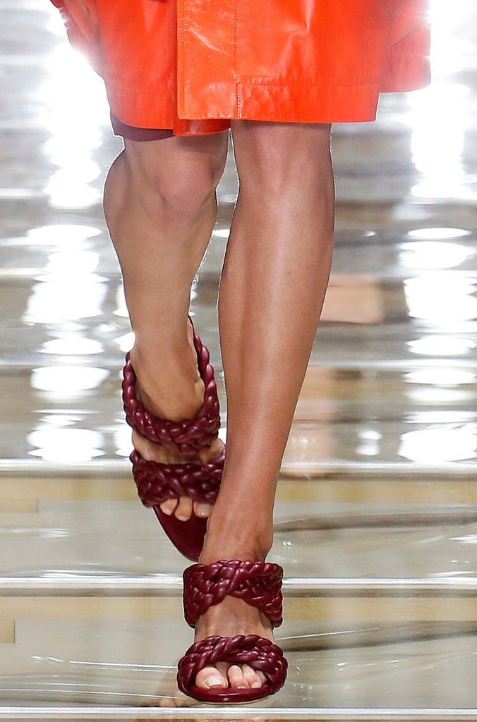 Bottega Veneta Shoes on the Runway During Milan Fashion Week