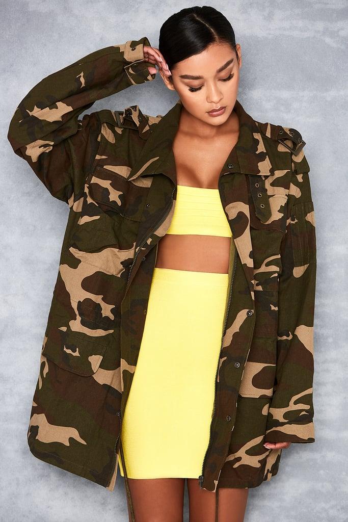 Mistress Rocks Camouflage Jacket