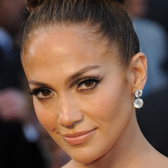 Don't make the mistake of thinking that winged eyeliner is only possible with a liquid formulation. As Jennifer Lopez showed at the Oscars this year, powder creates a wonderful wing too. Tip: to ensure your pigment lasts and that you get a precise line, use an eye primer and a flat, square-shaped brush. Here are some of our product recommendations.  Benefit Stay Don't Stray Primer ($45) Make Up Store Eye Primer ($29) MAC #212 Flat Definer Brush ($45) Models Prefer Flat Eyeliner Brush ($13.99)  Stockists: Westfield