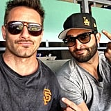 "Tyler Hoechlin: ""We can't agree on anything... @ianbohen"""