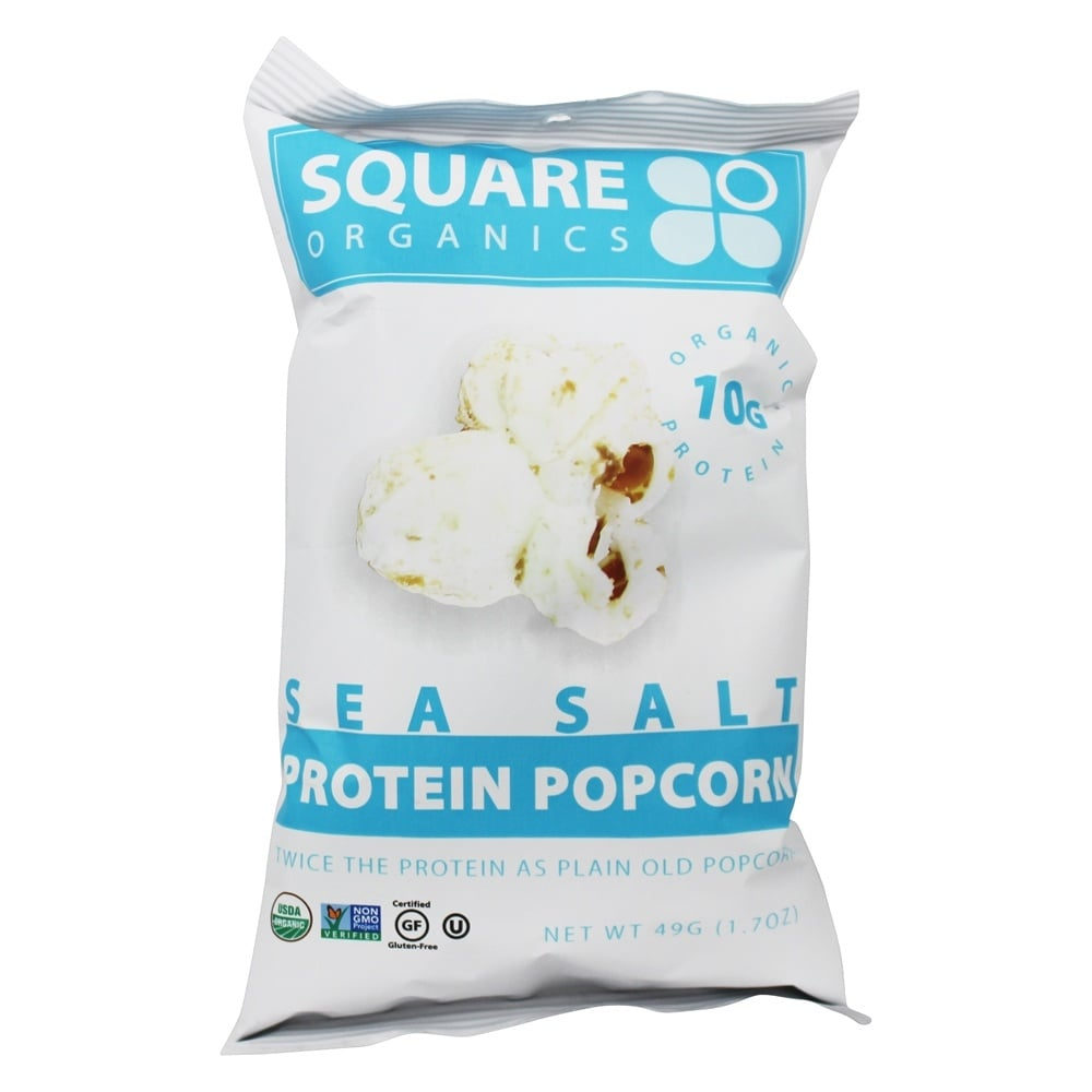 Square Organics Protein Popcorn
