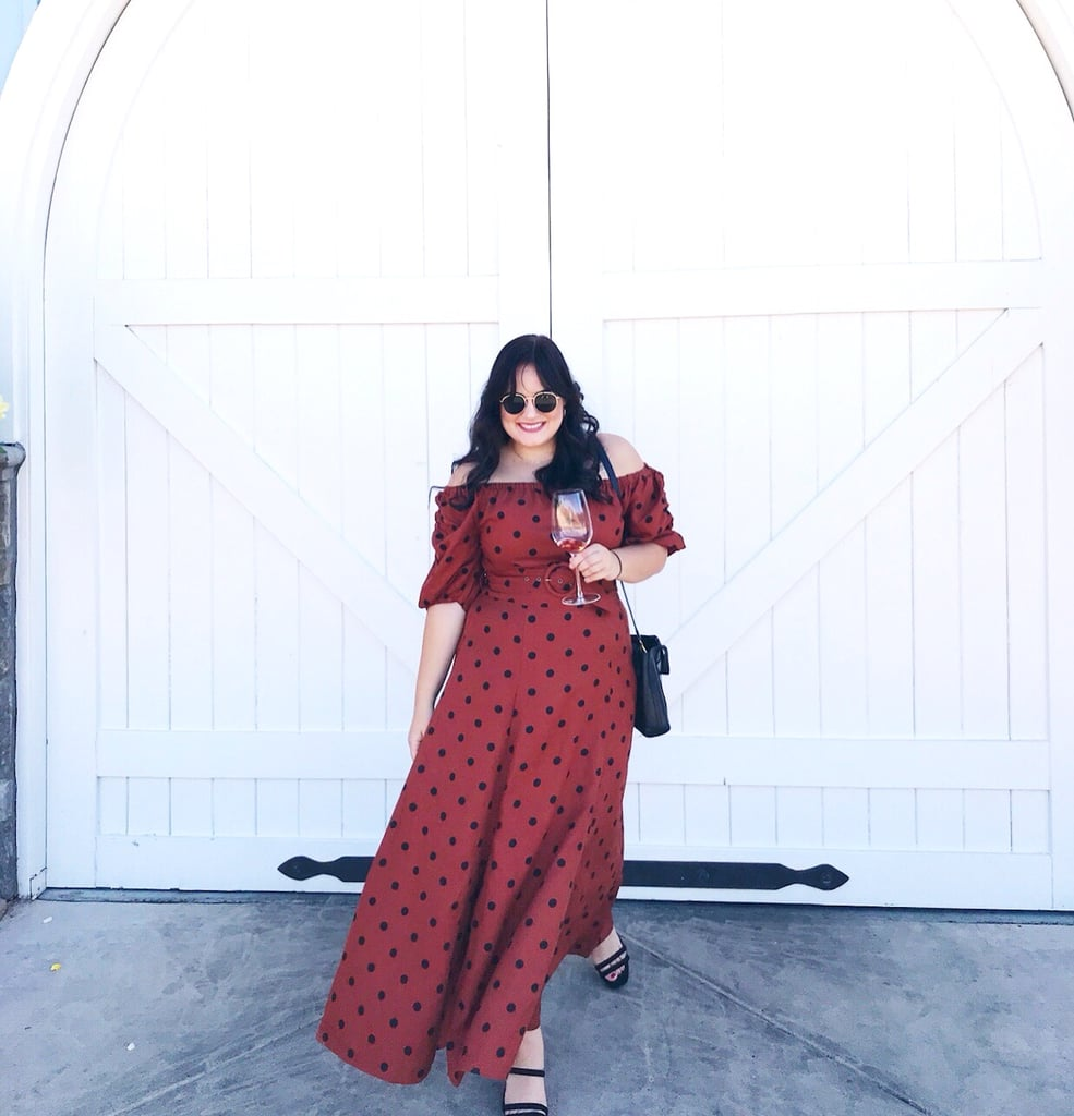 I've Worn This Flattering Anthropologie Dress Weekly This Fall (and Now It's on Sale!)