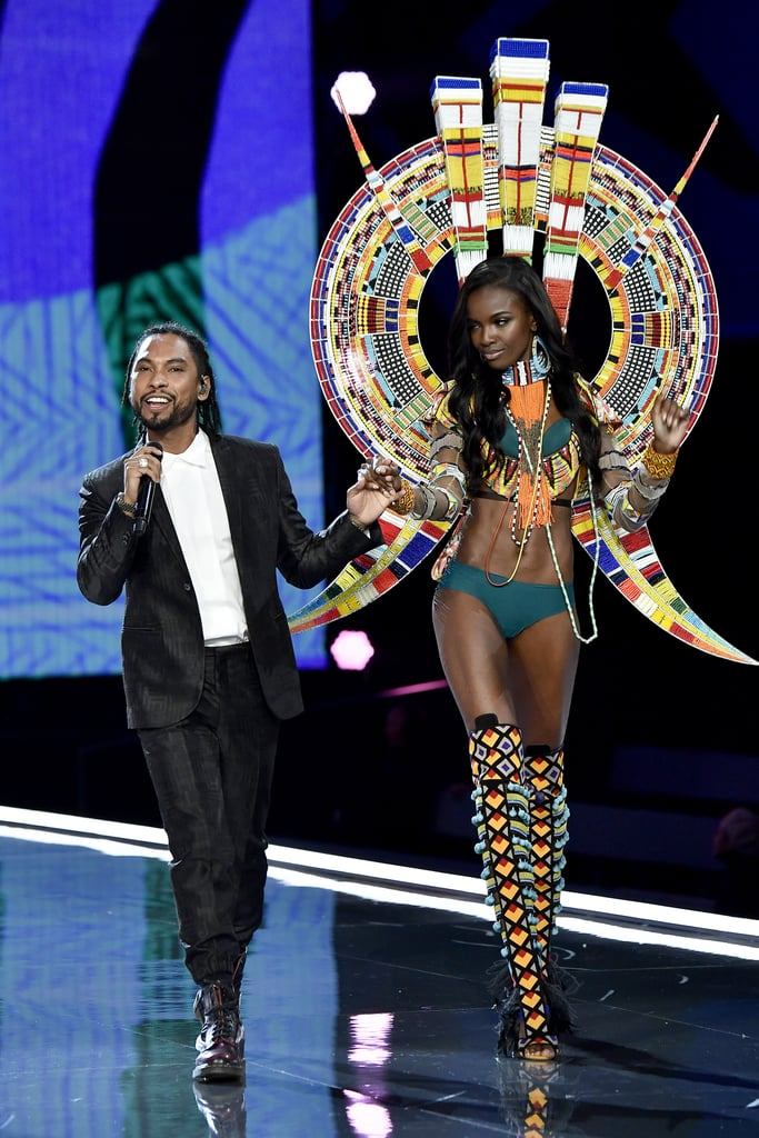 Pictured: Miguel and Leomie Anderson