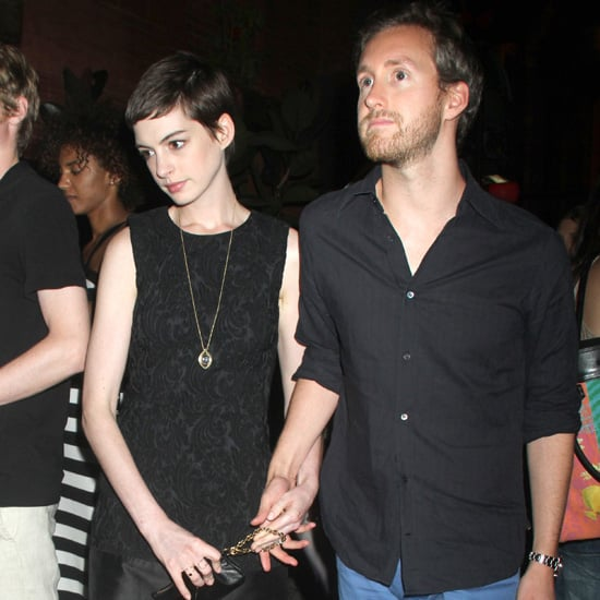 Anne Hathaway Engaged Celebrity Save The Dateanne: Anne Hathaway And Adam Shulman Date Night Pictures