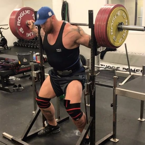 Game of Thrones' The Mountain Squatting on Instagram