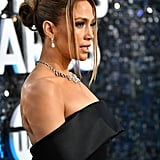 Jennifer Lopez's Hair at the 2020 SAG Awards