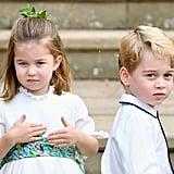Prince George, Princess Charlotte, and Prince Louis
