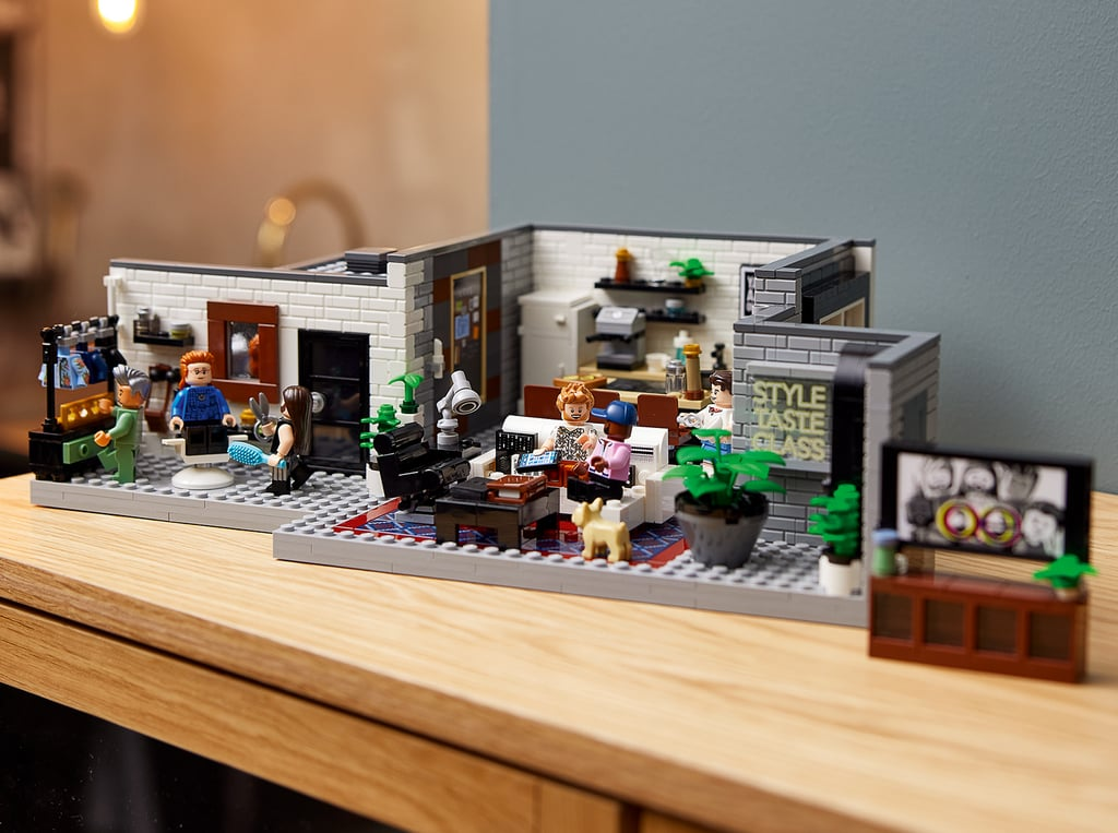See Photos of the Lego Queer Eye — The Fab 5 Loft Set