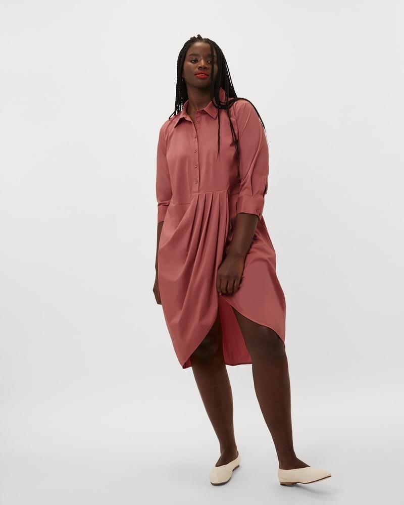 a1c272bec0 Danielle Brooks x Universal Standard The Danielle Shirt Dress