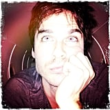 Ian Somerhalder got his smolder on. Source: Instagram user iansomerhalder