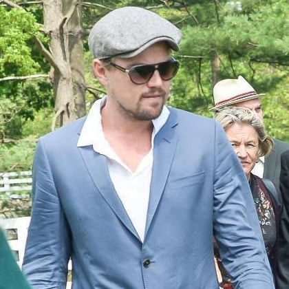 Leonardo DiCaprio at Andy Warhol Show in Connecticut