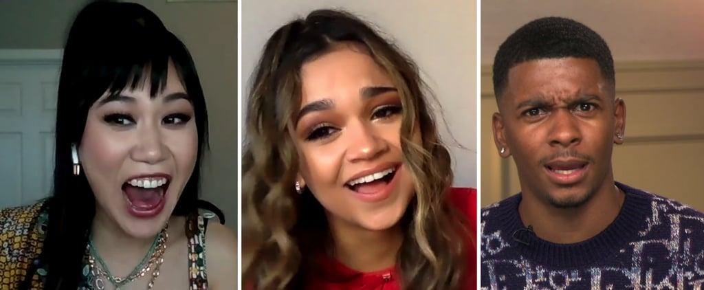 Madison Bailey Brett Gray Ramona Young Netflix Kisses Video