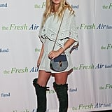 A boho mini was Elsa's pick for a 2015 Fresh Air Fund event.