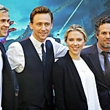 Chris Hemsworth, Tom Hiddleston, Scarlett Johansson, and Mark Ruffalo were in Italy.