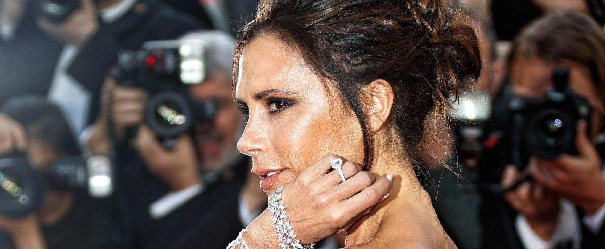 Victoria Beckham Engagement Ring