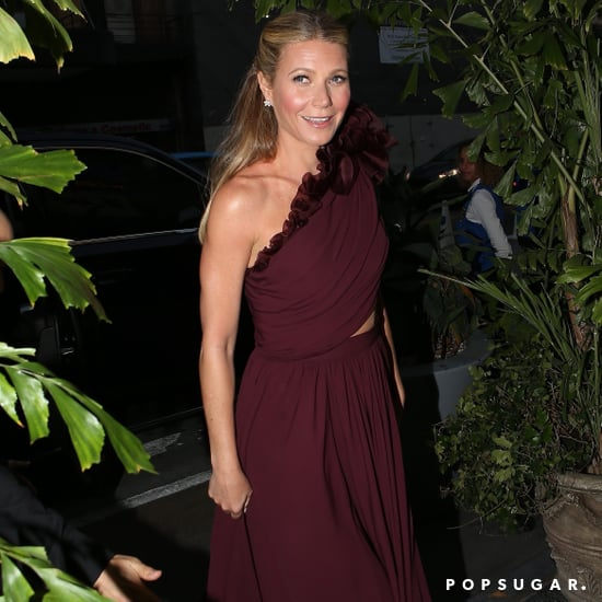 Gwyneth Paltrow Giambattista Valli Dress at Engagement Party